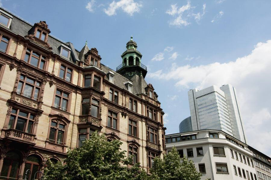Residential Structure In Frankfurt Am Main, Germany (Photo by: Insights/UIG via Getty Images)