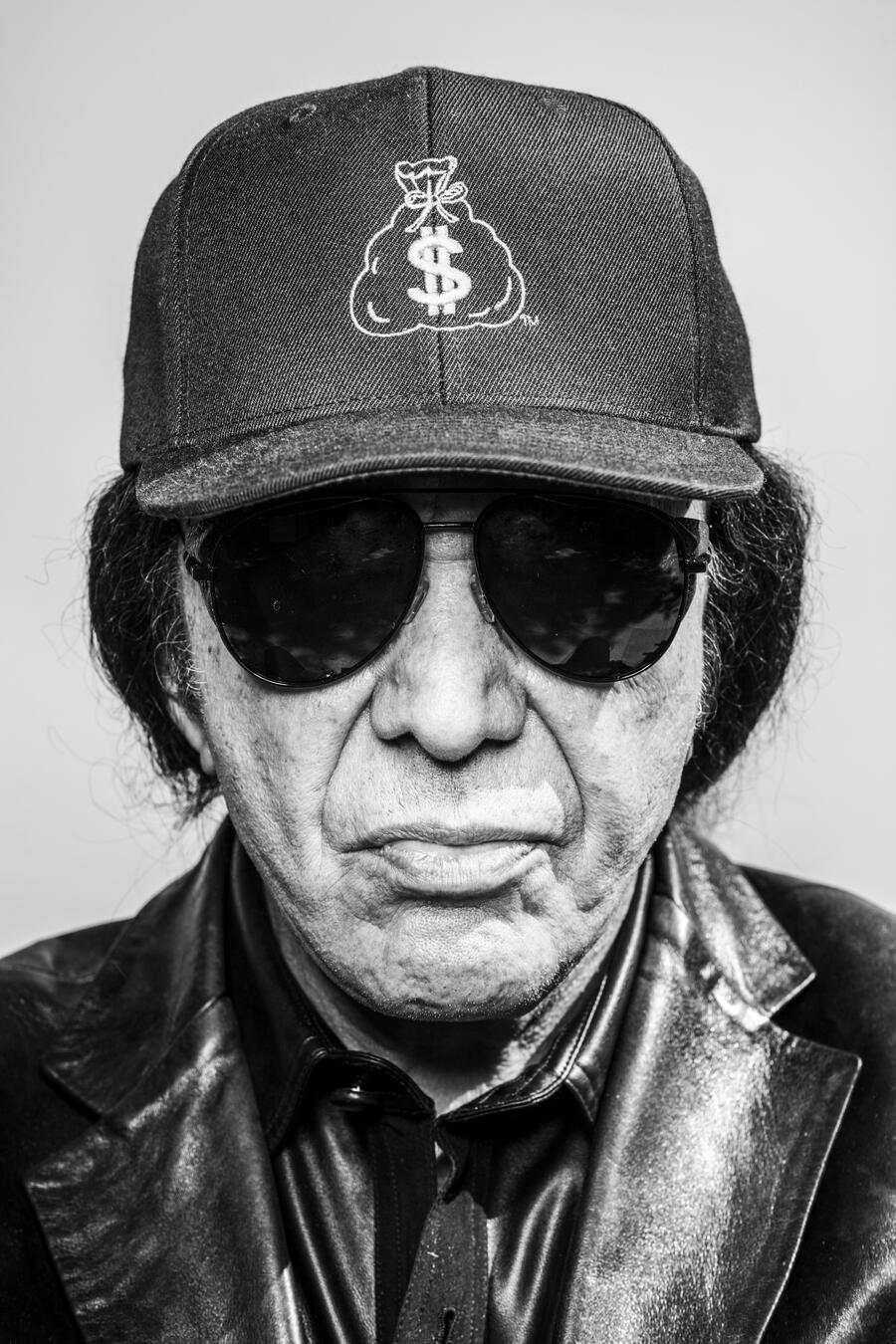 Gene Simmons photographed at his home, Beverly Hills, CA October 16 2019