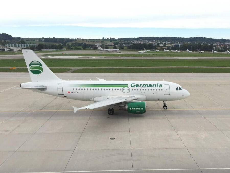 Germania Flug A319-Maschine