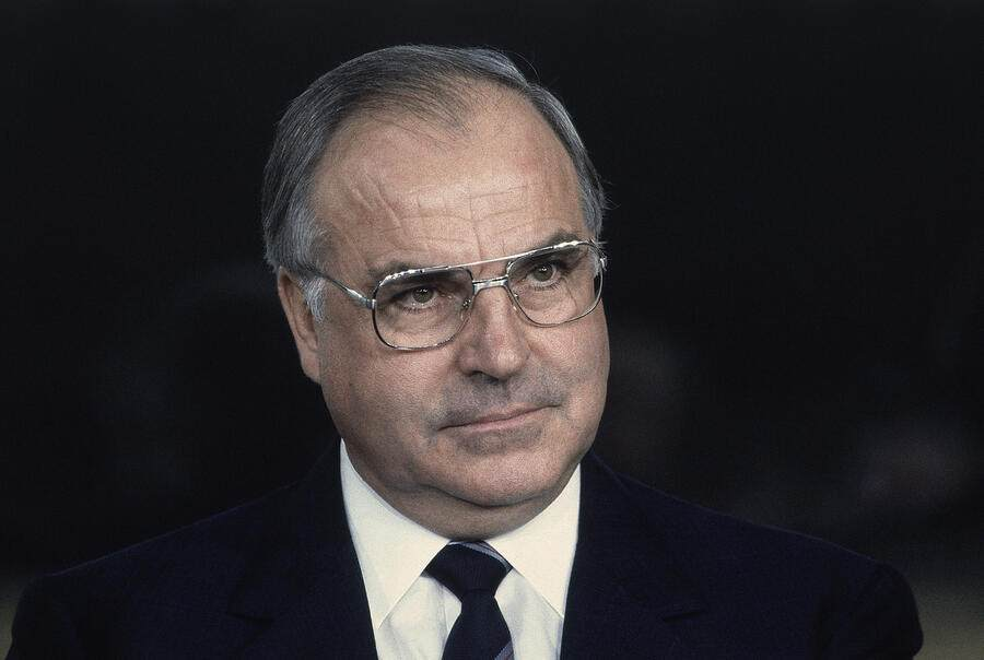 West Germany's Helmut Kohl is shown  in 1982. (AP Photo)