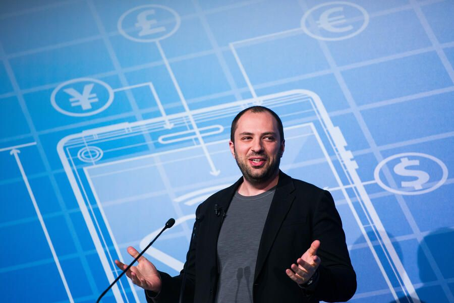 BARCELONA, SPAIN - FEBRUARY 24:  Whatsapp CEO Jan Koum during a Keynote conference as part of the first day of the Mobile World Congress 2014 at the Fira Gran Via complex on February 24, 2014 in Barcelona, Spain. The annual Mobile World Congress hosts some of the world's largest communication companies, with many unveiling their latest phones and gadgets. The show runs from February 24 - February 27.  (Photo by David Ramos/Getty Images)