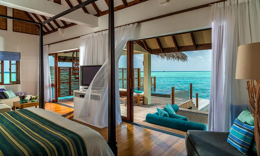 Four Seasons at Landaa Giraavaru, Malediven