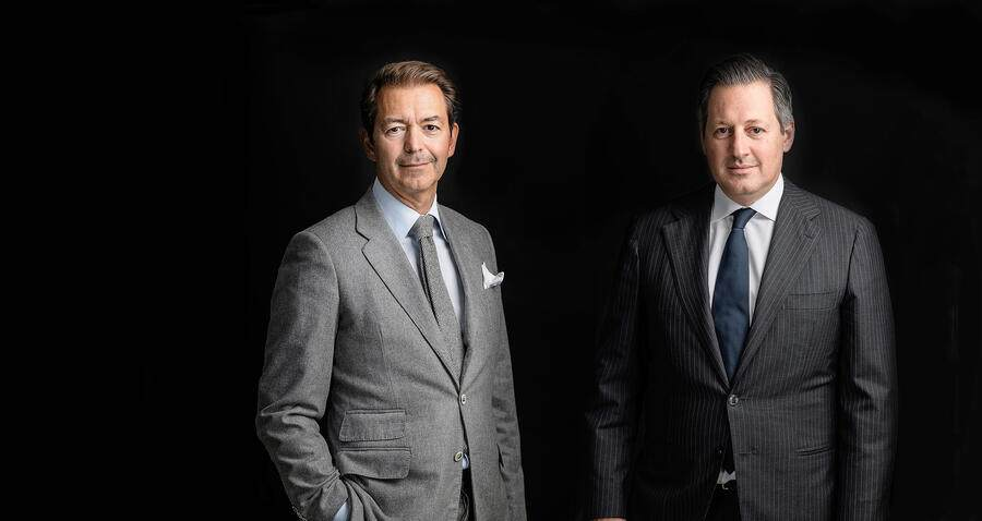 Wealth-Management-Chefs Boris Collardi und Rémy Best bei Pictet