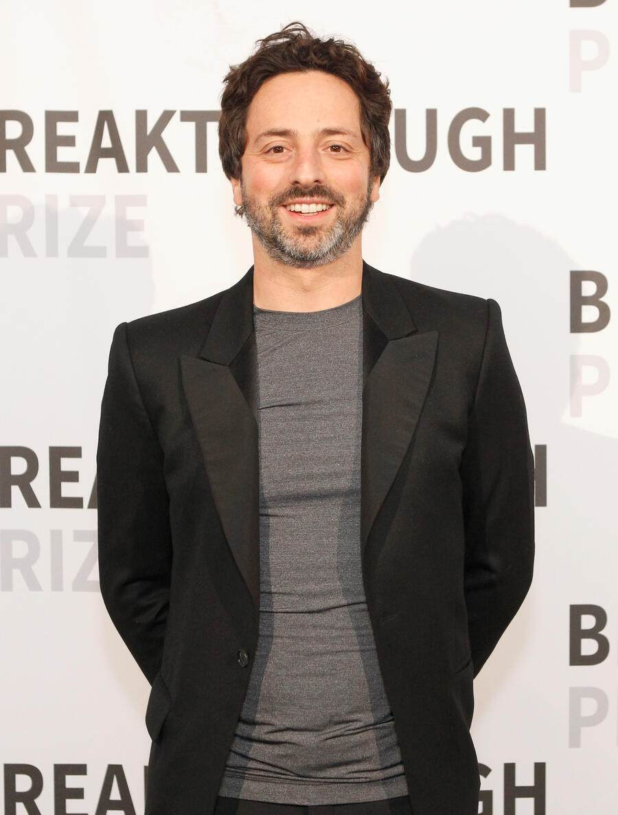 MOUNTAIN VIEW, CA - NOVEMBER 08:  Co-Founder, Google, Sergey Brin attends the 2016 Breakthrough Prize Ceremony on November 8, 2015 in Mountain View, California.  (Photo by Kimberly White/Getty Images for Breakthrough Prize)