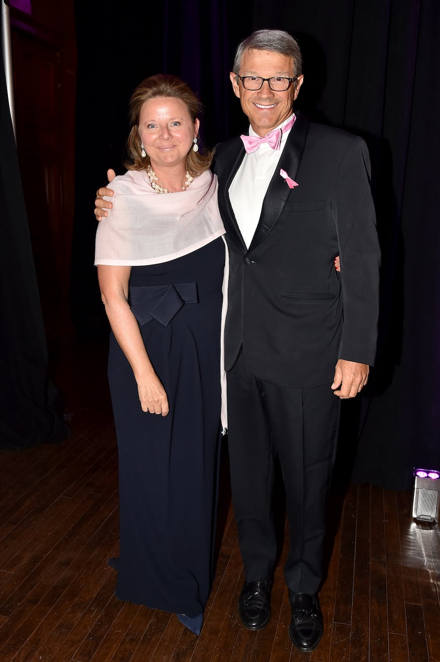 """Valentine Firmenich, Patrick Firmenich==2017 Hot Pink Party """"Super Nova"""" presented by the Breast Cancer Research Foundation==Park Avenue Armory, NYC==May 12, 2017==©Patrick McMullan==Photo - Patrick McMullan/PMC===="""