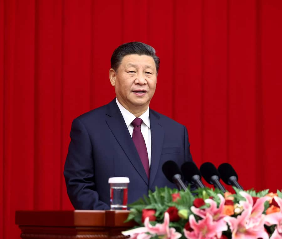 BEIJING, Dec. 31, 2020 (Xinhua) -- Chinese President Xi Jinping, also general secretary of the Communist Party of China Central Committee and chairman of the Central Military Commission