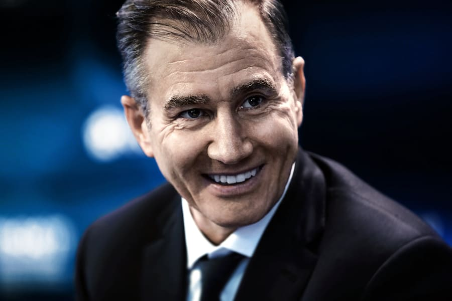 Ivan Glasenberg, billionaire and chief executive officer of Glencore Plc, reacts as he speaks on the Bloomberg Television debate panel during the St. Petersburg International Economic Forum (SPIEF) at the Expoforum in Saint Petersburg, Russia, on Thursday, June 1, 2017. The event program is based around the theme 'Achieving a New Balance in the Global Economic Arena' and runs from June 1 - 3. Photographer: Simon Dawson/Bloomberg