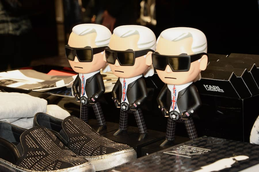LONDON, ENGLAND - MARCH 13:  A general view of the atmosphere at the Karl Lagerfeld European flagship store launch on March 13, 2014 in London, England.  (Photo by David M. Benett/Getty Images for Karl Lagerfeld)