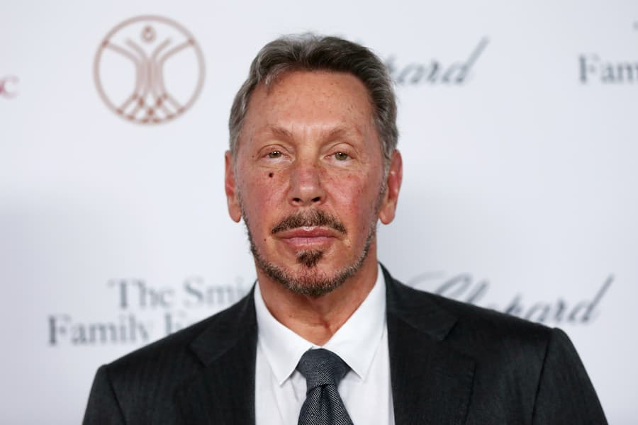 LOS ANGELES, CALIFORNIA - OCTOBER 24:  Larry Ellison attends the Rebels With A Cause Gala 2019 at Lawrence J Ellison Institute for Transformative Medicine of USC on October 24, 2019 in Los Angeles, California. (Photo by Phillip Faraone/Getty Images)