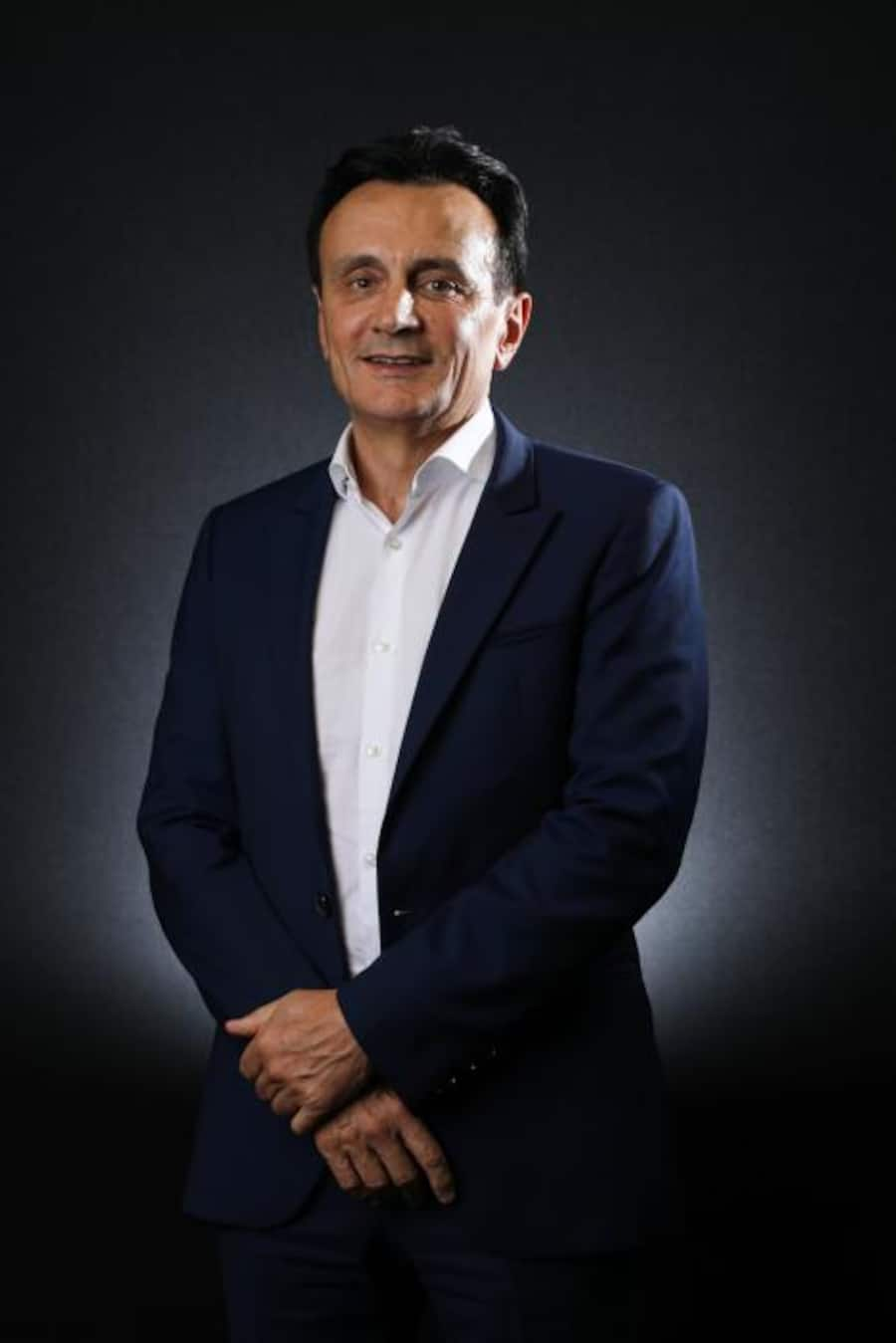 Pascal Soriot, chief executive officer of Astrazeneca Plc, poses for a photograph before an interview in London, U.K., on Monday, Sept. 4, 2017. Soriotsaid he's worried about the lack of progress in negotiations between the U.K. and the European Union on their future ties, which could impede sales of drugs in foreign markets afterBrexit. Photographer: Chris Ratcliffe/Bloomberg